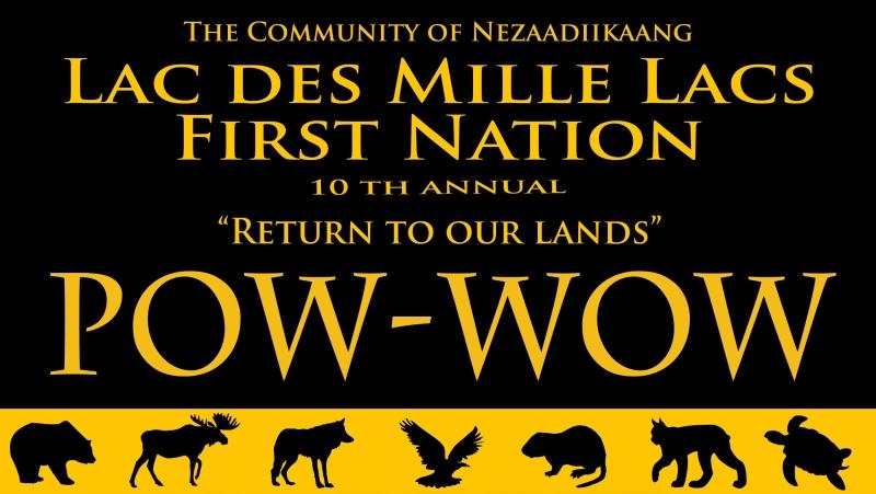 Lac des mille lacs first nation 39 s 10th annual powwow lac for Garage des milles lacs