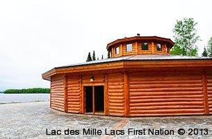 Roundhouse lac des mille lacs first nation for Garage des milles lacs